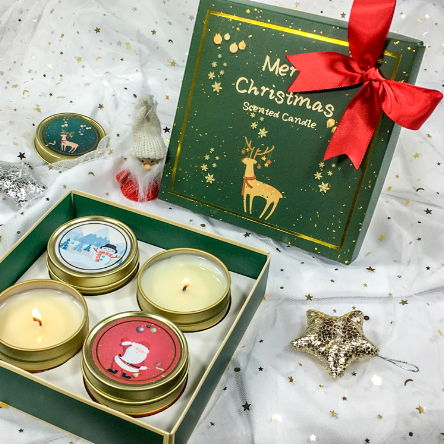 4pk Wholesale UK Christmas scented candles custom ...