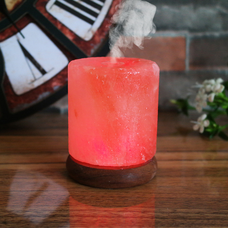 Himalayan salt lamp essential oil diffuser cool mist humidifier wholesaler UK for home decor