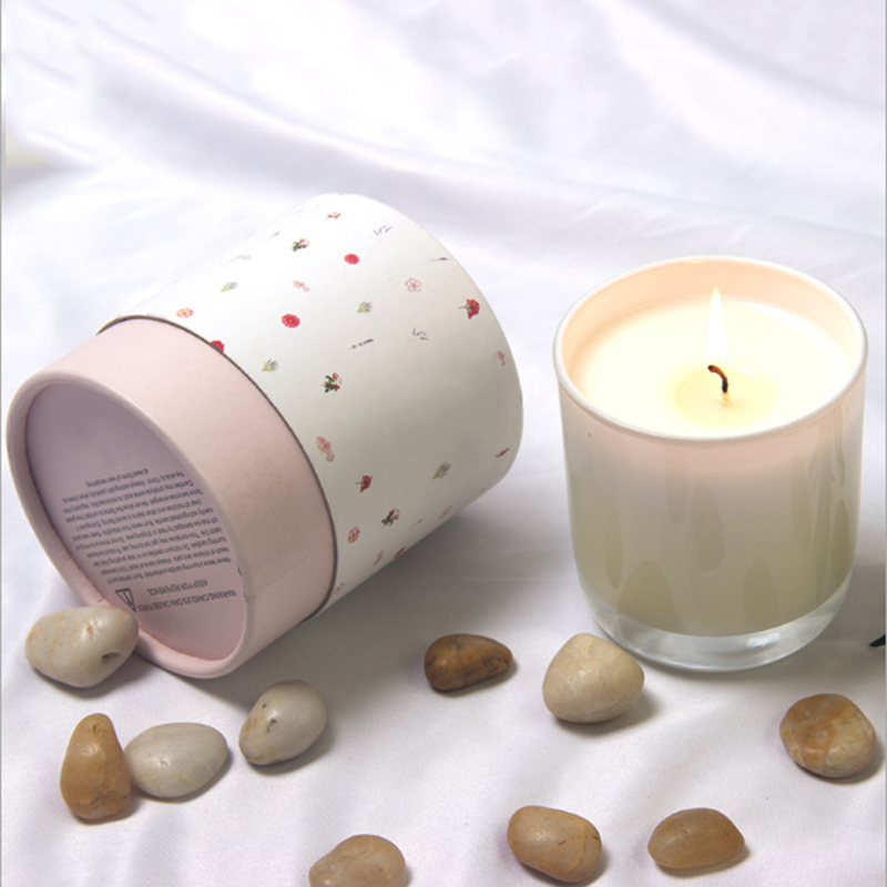 China candle supplier wholesale luxury scented natural soy wax candles with own brand customized packaging