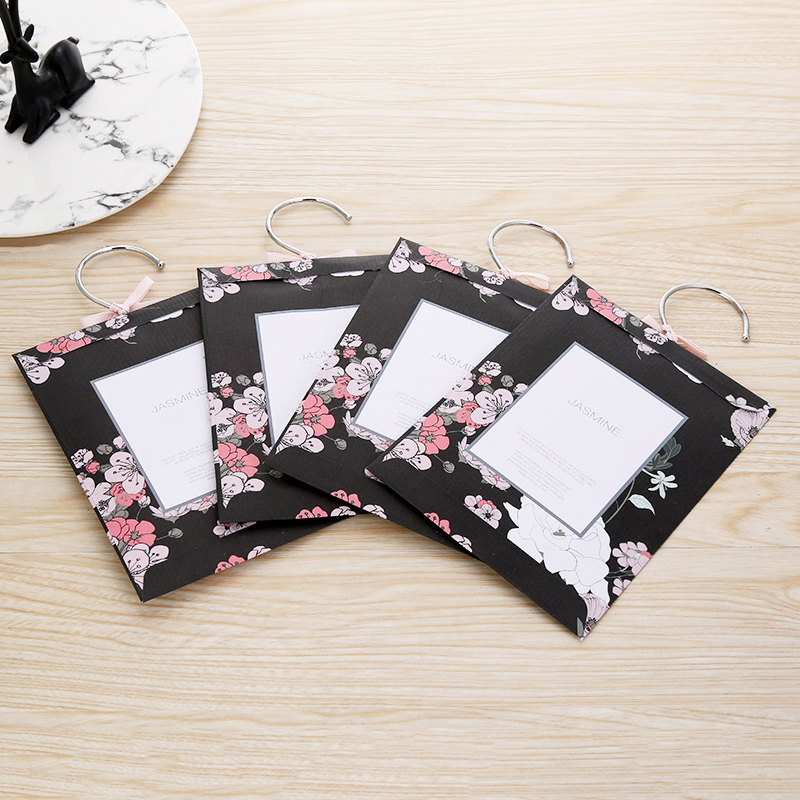 Hot sale UK flower 20g aroma scented sachet for closet and storage