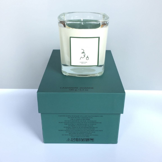 Wholesale 180g custom private label scented natural soy wax candles manufacturers China