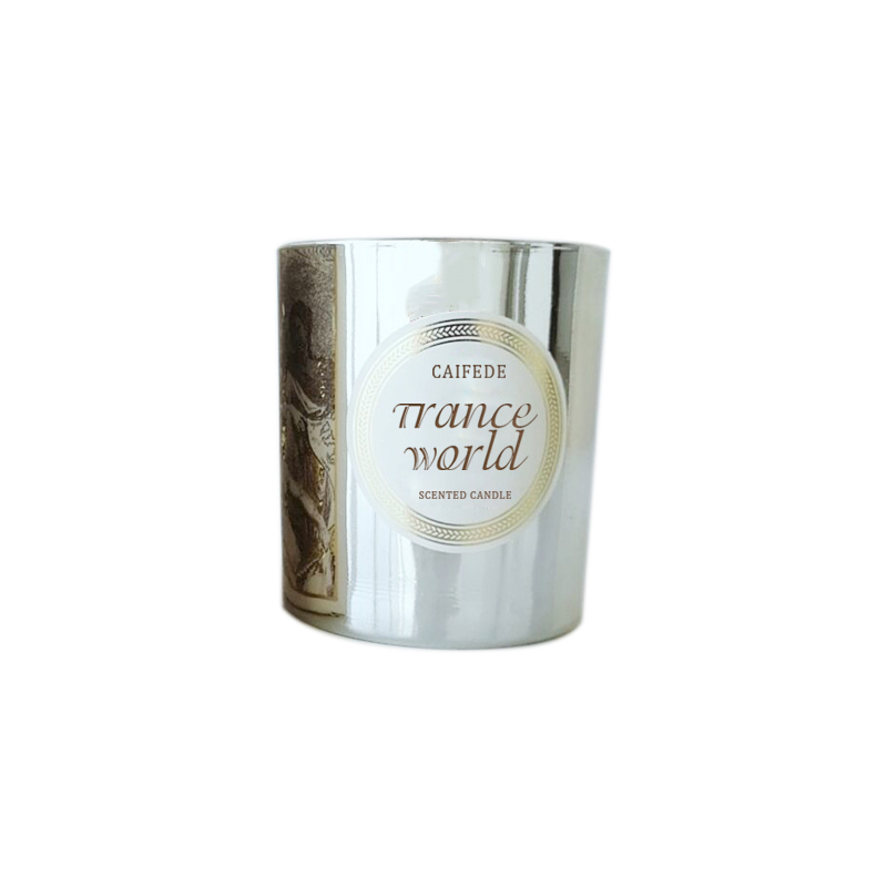 Hot sale Canada luxury private label scented candle with customized packaging