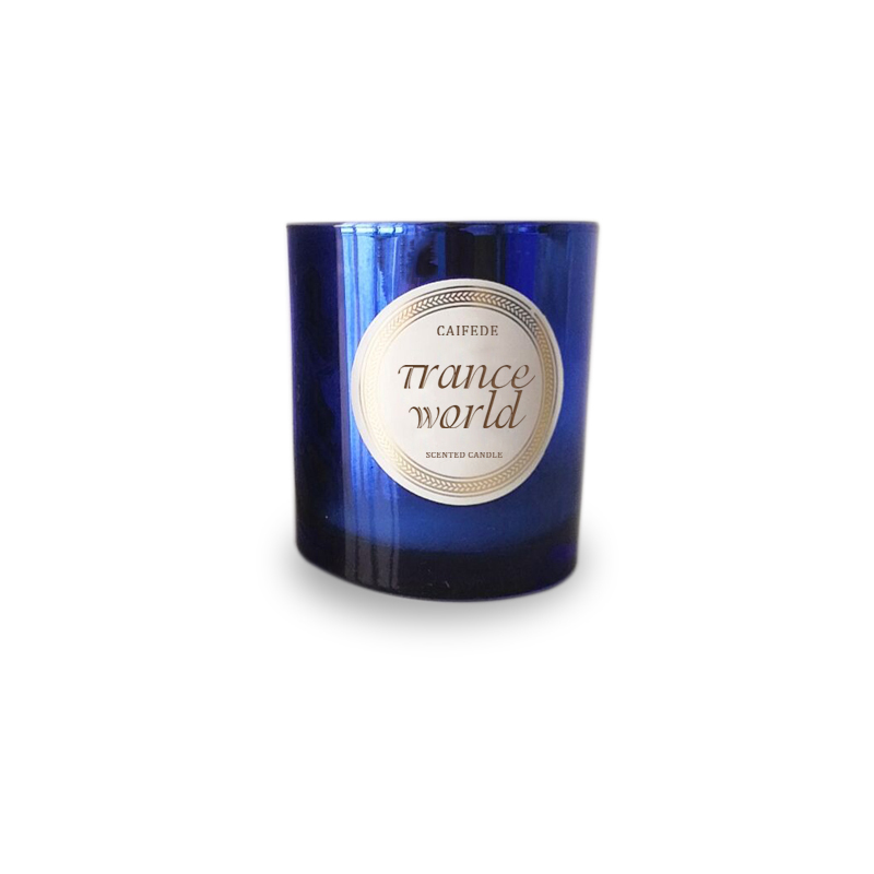 Customize France private label scented wax candle home decor