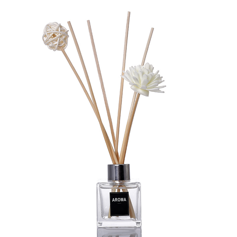 Hot sale customized private label aroma essential oil reed diffuser room freshener for home decor