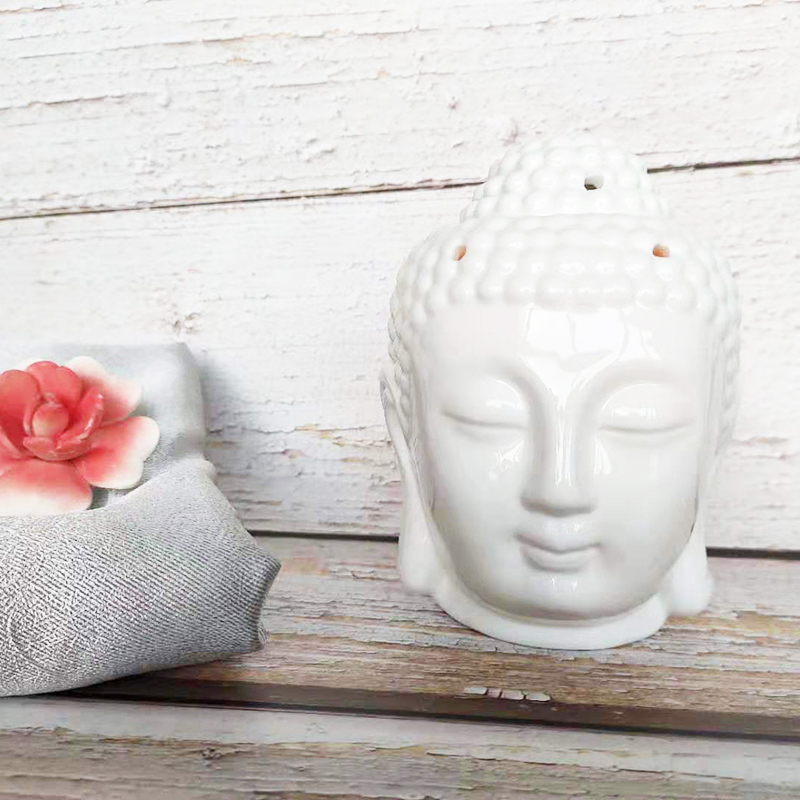 wholesale Buddha head ceramic oil burner (6).jpg