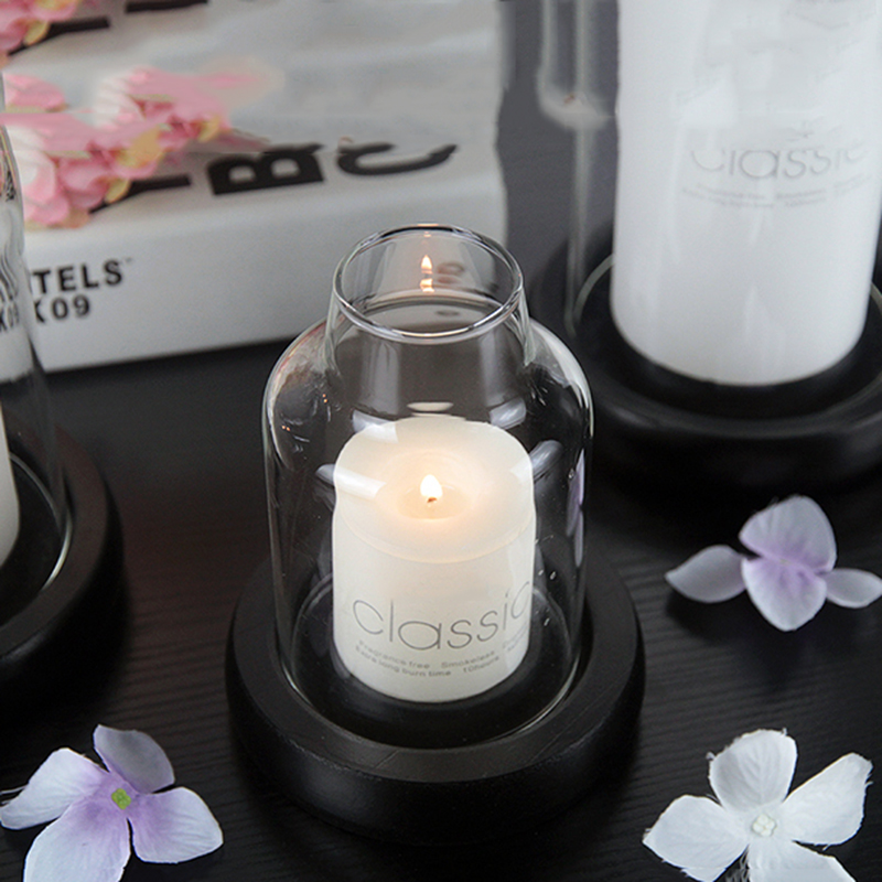 Wholesale OEM ODM private label hurricane candle holders for home decor