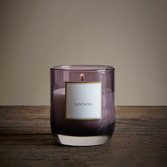 UK Private label classical lavender scented natural soy wax candles manufacturer