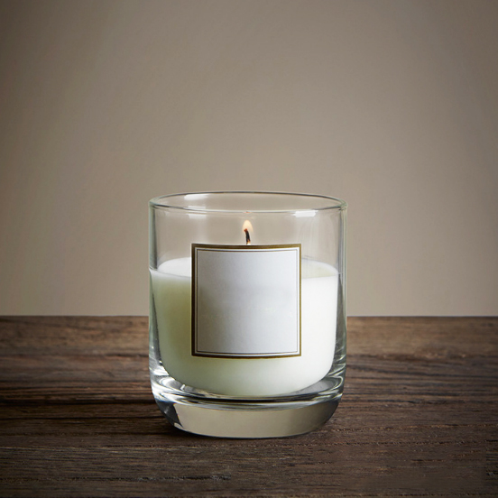 Hot sale UK 130g private label scented natural soy wax candles manufacturers