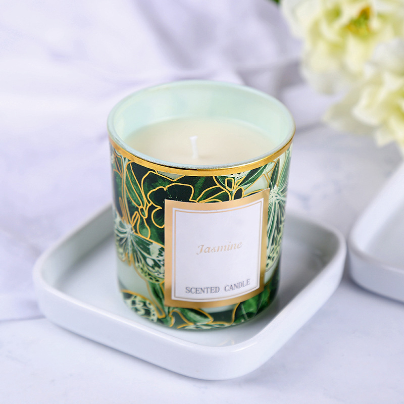 Candle manufacture Private label customized packaging box wholesale scented candle with different sizes