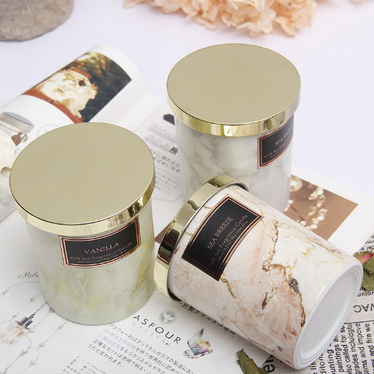 China manufacturer Paris wholesale custom scented candles gift sets with private label