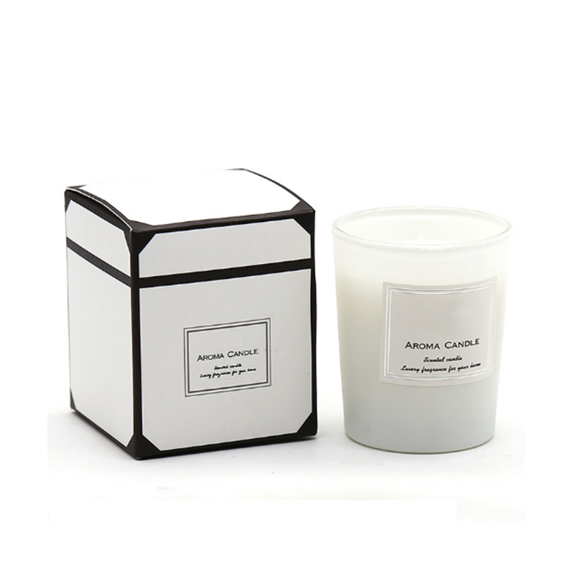 Own brand customized 7*8cm scented natural soy wax candle factory private label