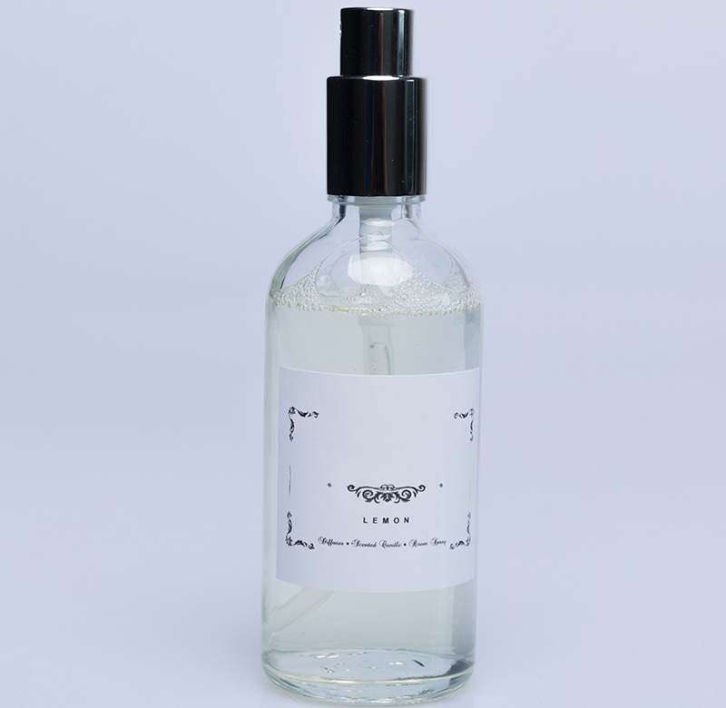 Wholesale aromatherapy room air freshener spray with personalized label and scent