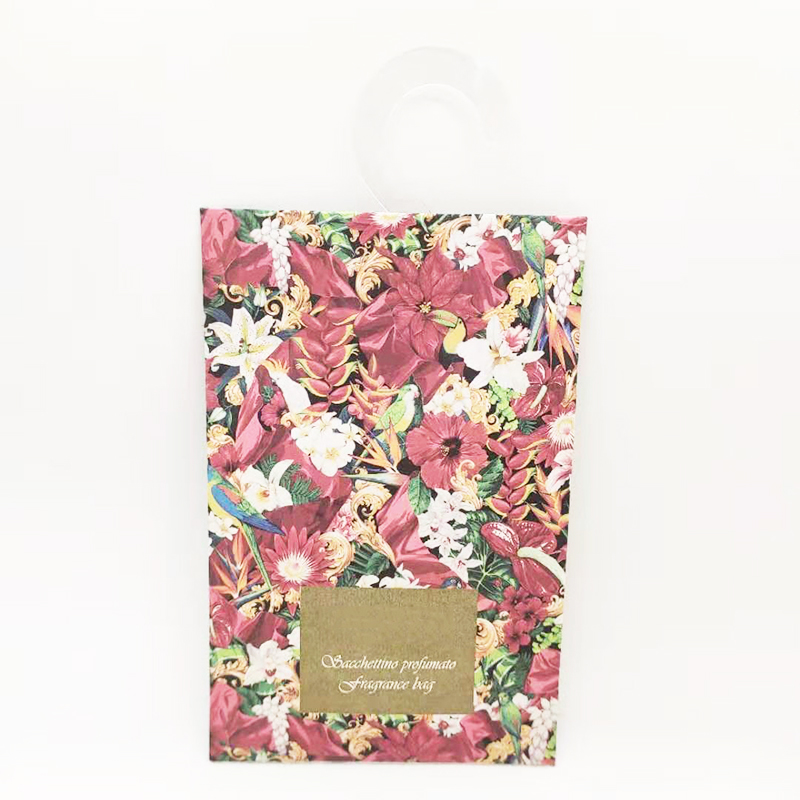 20g hot selling scented fragrance sachets bag UK with own brand customized packaging