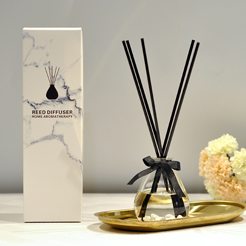 Wholesale aromatherapy reed diffuser oil with private label and customized packaging box