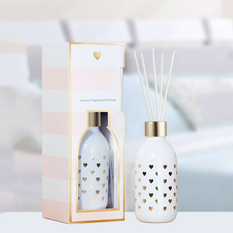 Own brand packaging customized private label wholesale room freshener aromatherapy essential oil reed diffuser for home fragrance