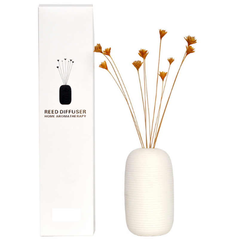 Private label ceramic aroma reed diffuser oil wholesaler with customized own brand name packaging