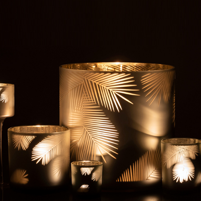 Wholesale glass votive candle holders UK in different sizes for home decor