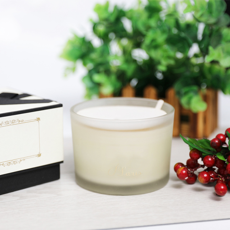 China candle manufacturer wholesale scented hand poured natural soy wax candles with customized own brand packaging and private label
