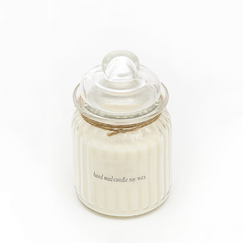 Hand poured scented natural soy wax candles with private label for home decor and fragrance