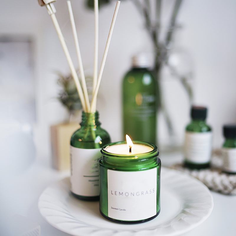 Professional candle supplier wholesale glass scented candle