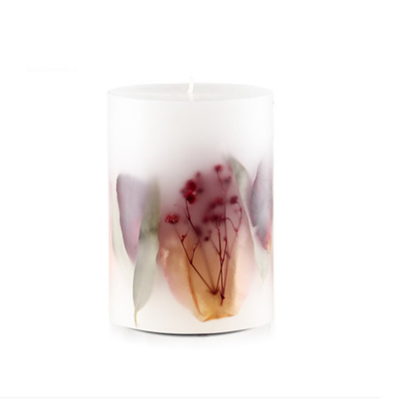 Private label scented pillar candle UK for home decor and household fragrance