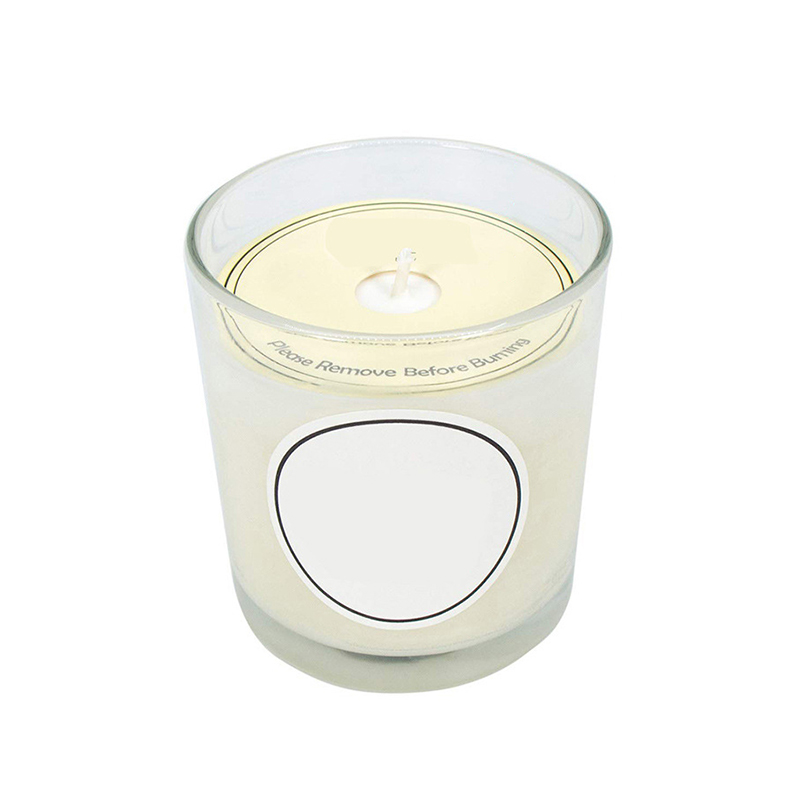 Own brand customized wholesale vanilla scented candle provide free samples for home decor