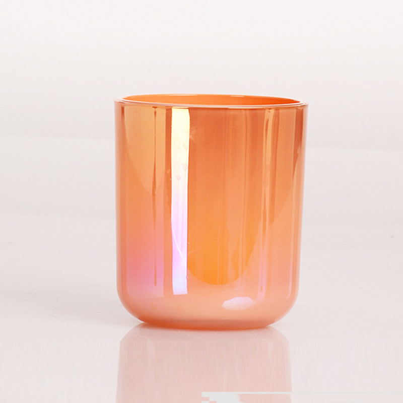 Own brand name customized private label world wholesale glass candle holder with different sizes for home decor