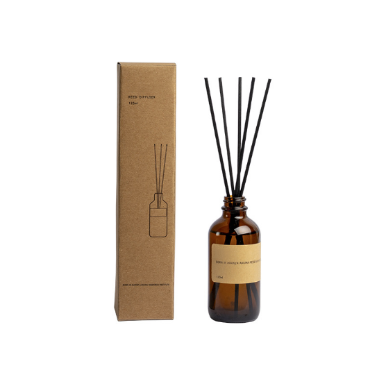 Hot sale Dublin 120ml aroma reed oil diffuser gift set custom label sticker and packaging