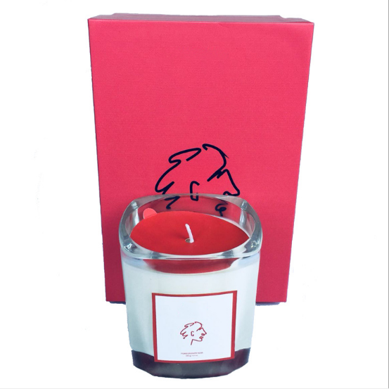 8*9cm Wholesale custom private label glass jar scented candles suppliers UK
