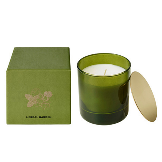 Wholesale UK luxury private label scented candles manufacturers with metal lid