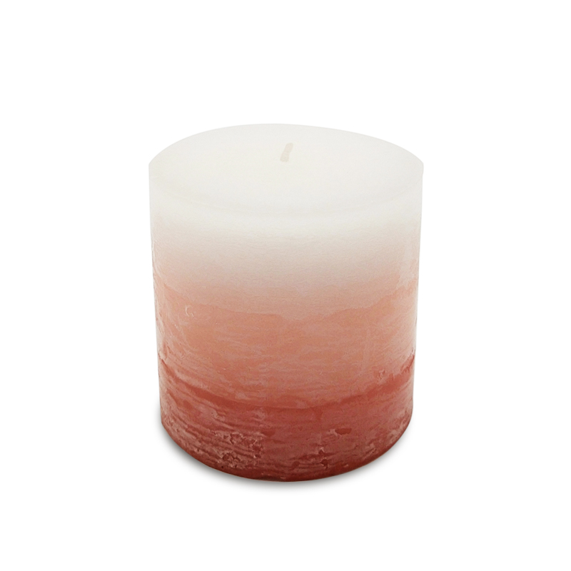 Free samples supply Europe scented pillar candle for wedding event