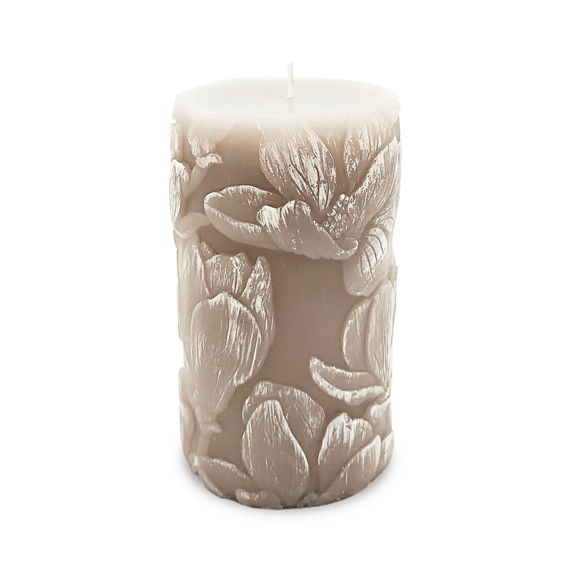 56g scented pillar candle London for with private label for home fragrance and decor