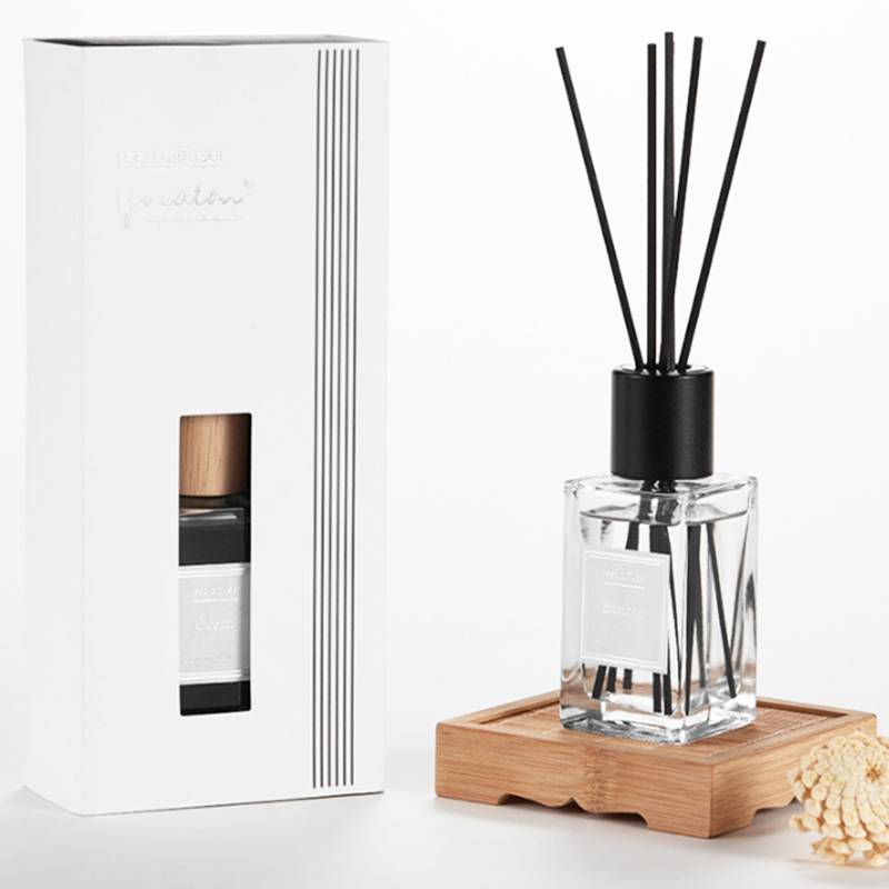 Room freshener supplier wholesale aromatherapy essential oil reed diffuser with private label for home fragrance