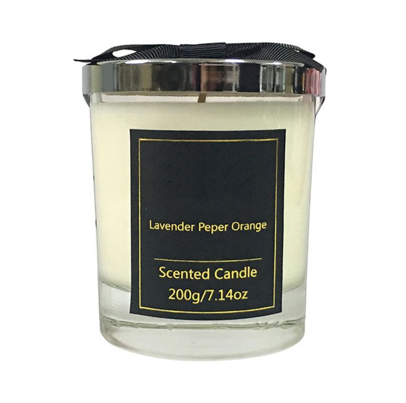 Candle manufacturer wholesale scented hand poured natural soy wax candles with private label